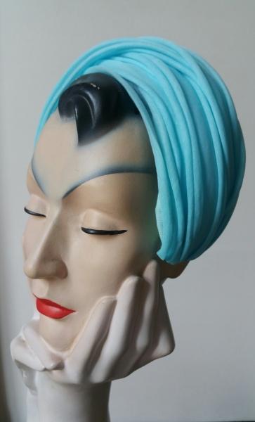 organdie blue