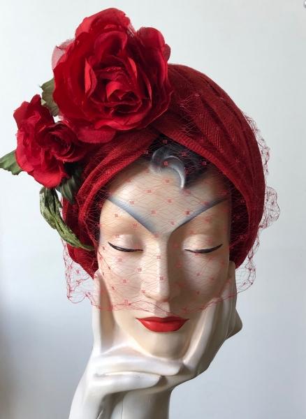 sinamay turban